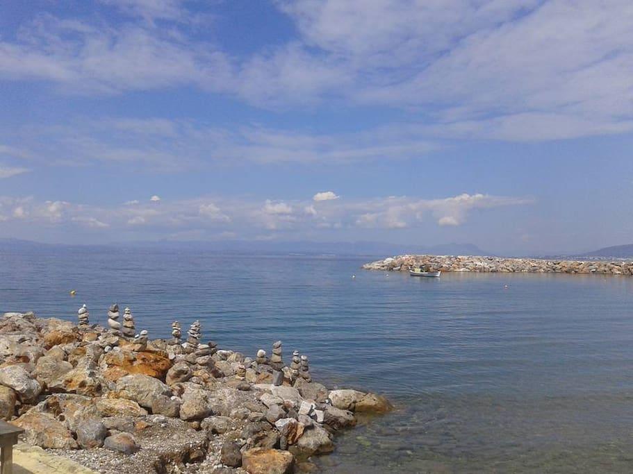 paliochora beach