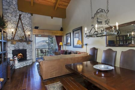 Ski in Ski Out - 3 & Loft, FOUR baths, great view