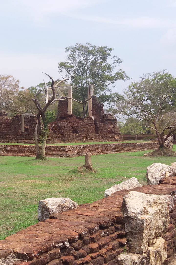 Ruins of the ancient town