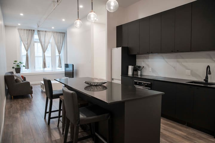 Beautiful 2 bdrLoft  in OLD MTL!! (Just renovated)