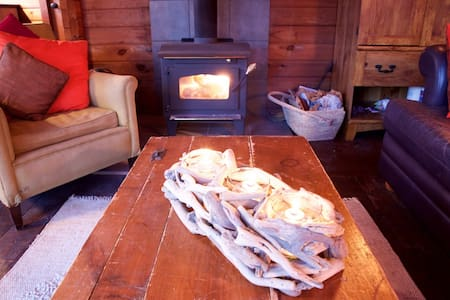 Lakeside Cozy Bear Cabin - Sainte-Cécile-de-Masham