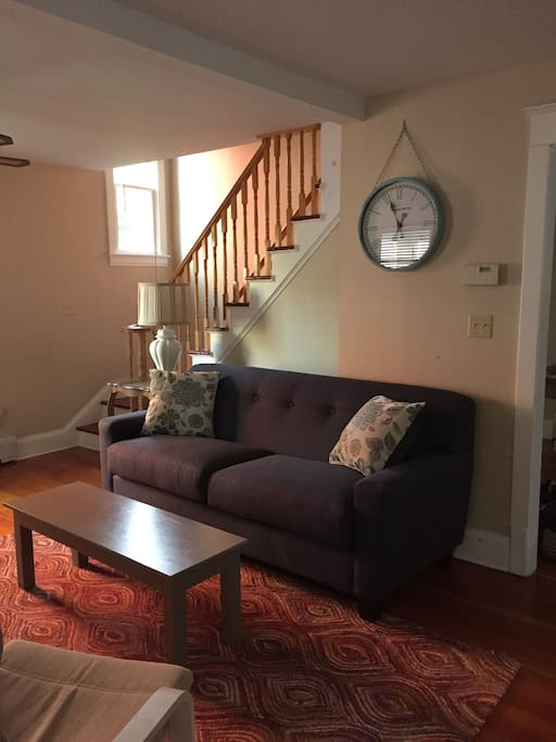 All new sofas/chairs in living room