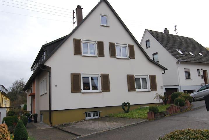 Ruhige 2 Zimmer Ferienwohnung - Heuchlingen - Apartment