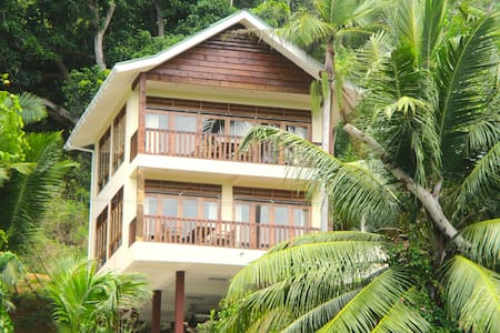 "Healing Islands Chalet ""Fler"", great sea view"