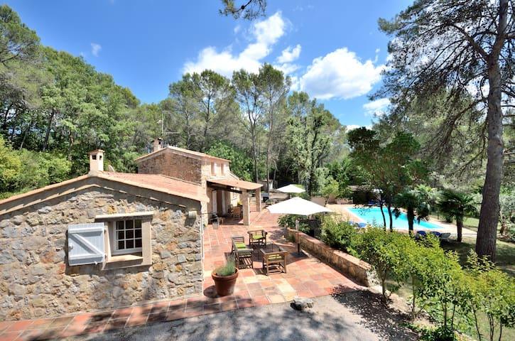 Peaceful luxury bastide, private pool - Draguignan - Casa