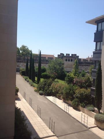 Intra-muros 4 couchages + parking. - Avignon - Daire