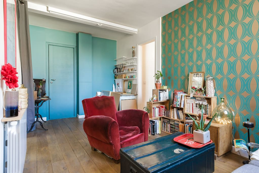 Arty And Cosy Left Bank Apartment Flats For Rent In