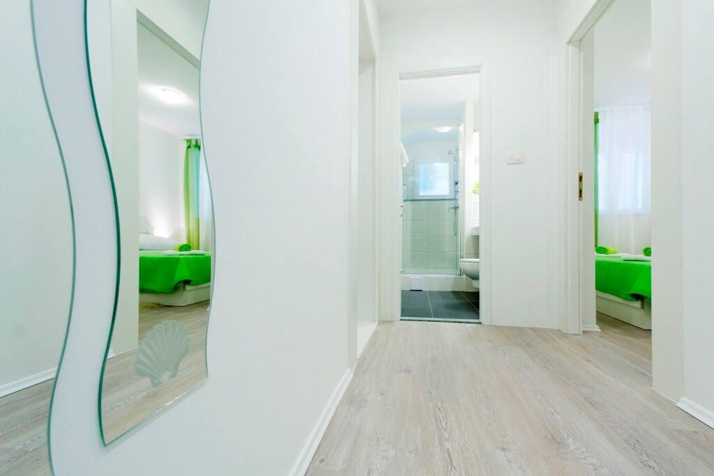 hallway view...