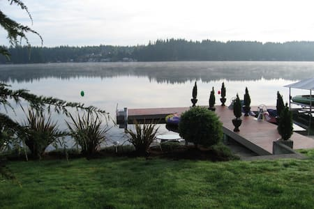 Lakefront House With Beautiful View! Avl for 4th! - Stanwood