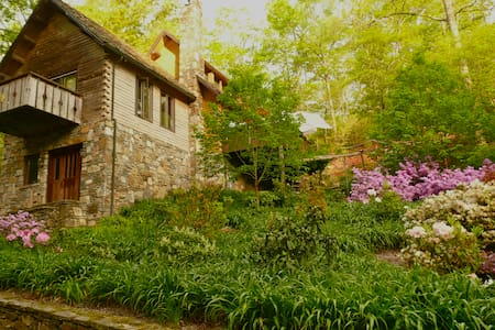 Green living in quiet setting. - Lake Toxaway - Casa