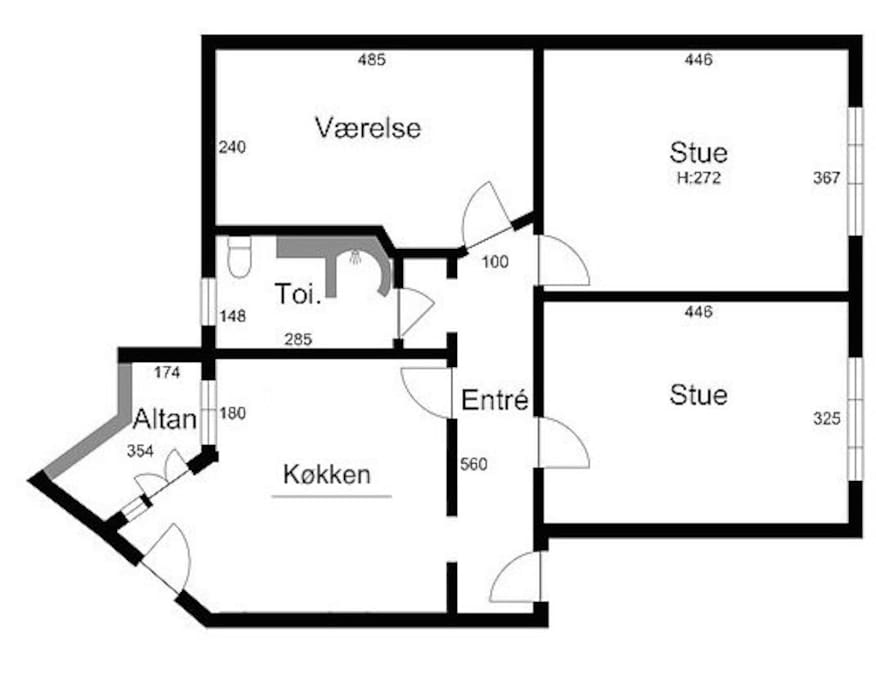 Plantegning/Floor Plan