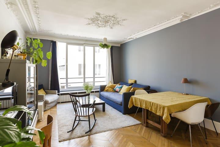 Spacious & cosy apartment near Père Lachaise