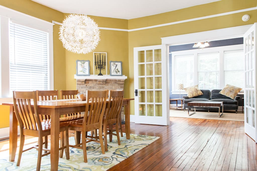 Open concept with lots of room for large groups