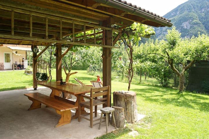 Casa Zugliani nelle Dolomiti - Mezzano - Appartement