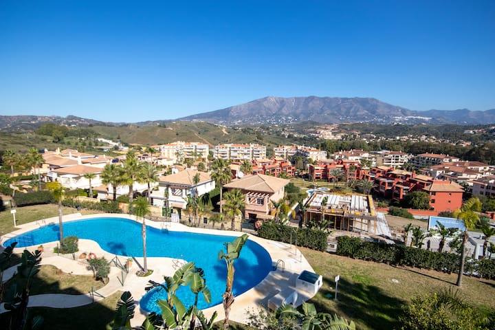 A spacious two bedroom apartment in La Cala Hills