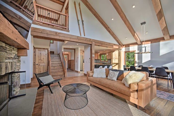 NEW! Luxe Home w/ Deck: Explore the Catskill Mtns!