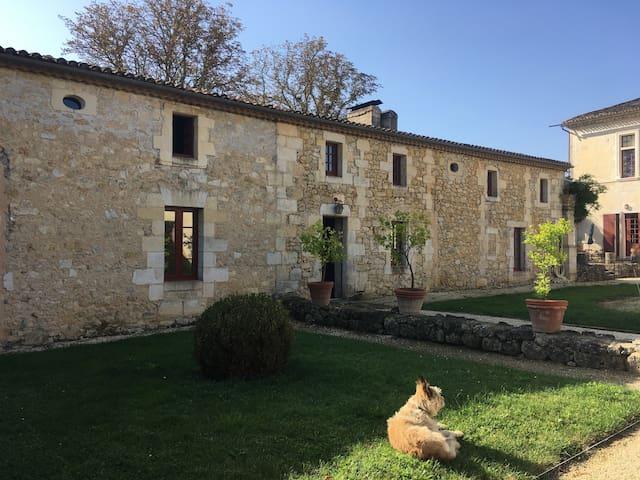 Gîte dans le vignoble bordelais