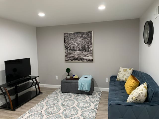 New basement apt close to Infinite Energy Center!!