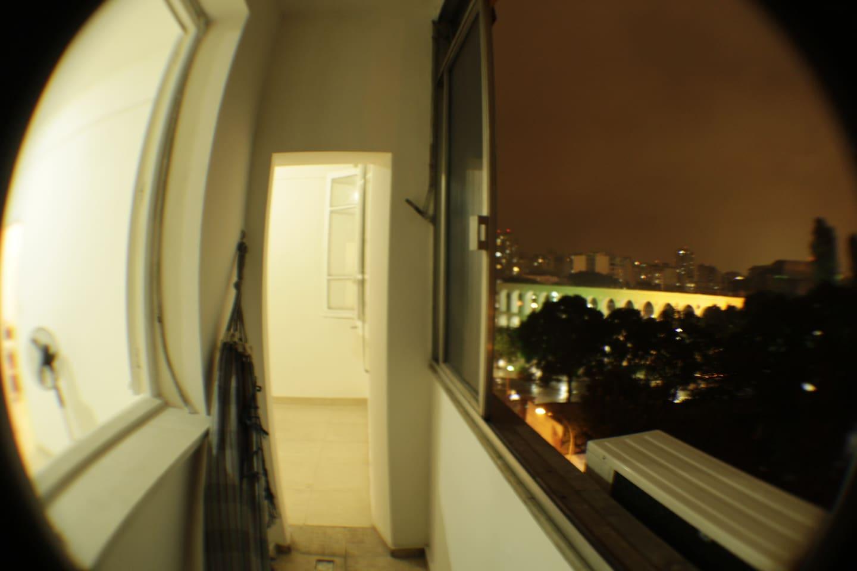 Vista noturna - Arcos, Catedral, Santa Teresa !