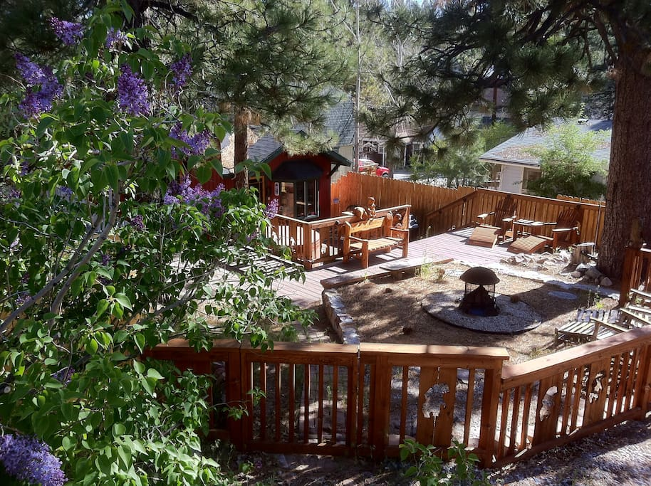 The perfect cozy romantic getaway cabins for rent in for Cabins for rent big bear ca