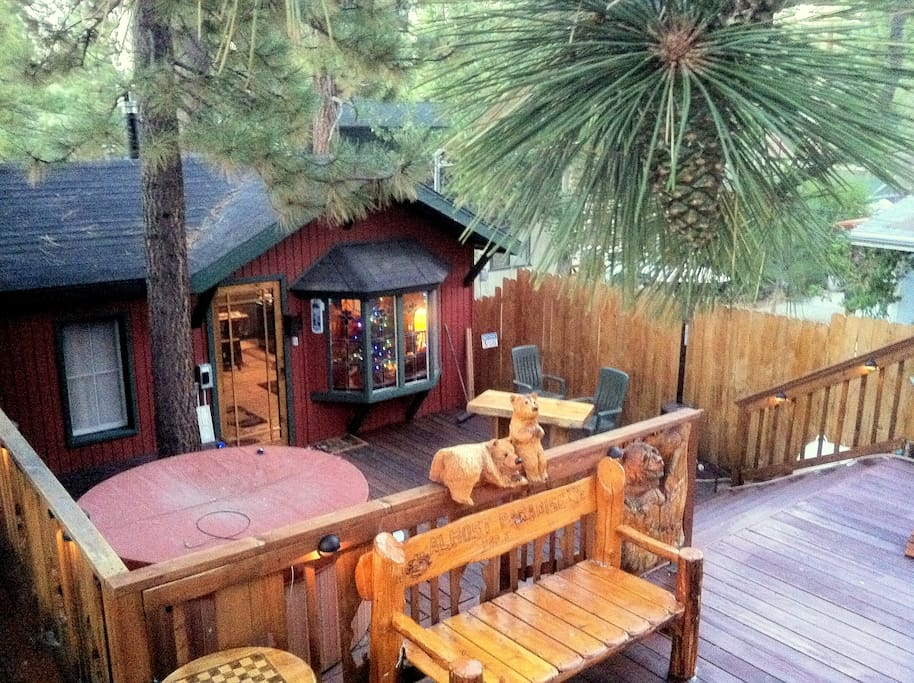The perfect cozy romantic getaway cabins for rent in for Cabins for rent in big bear lake ca