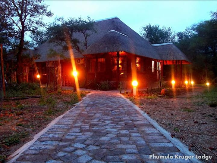Phumula Kruger Lodge - Grass top Room 6
