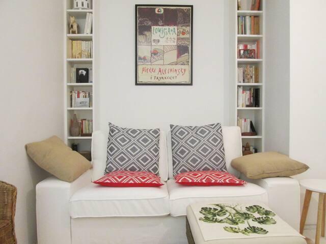 Appartement cosy avec petit jardin