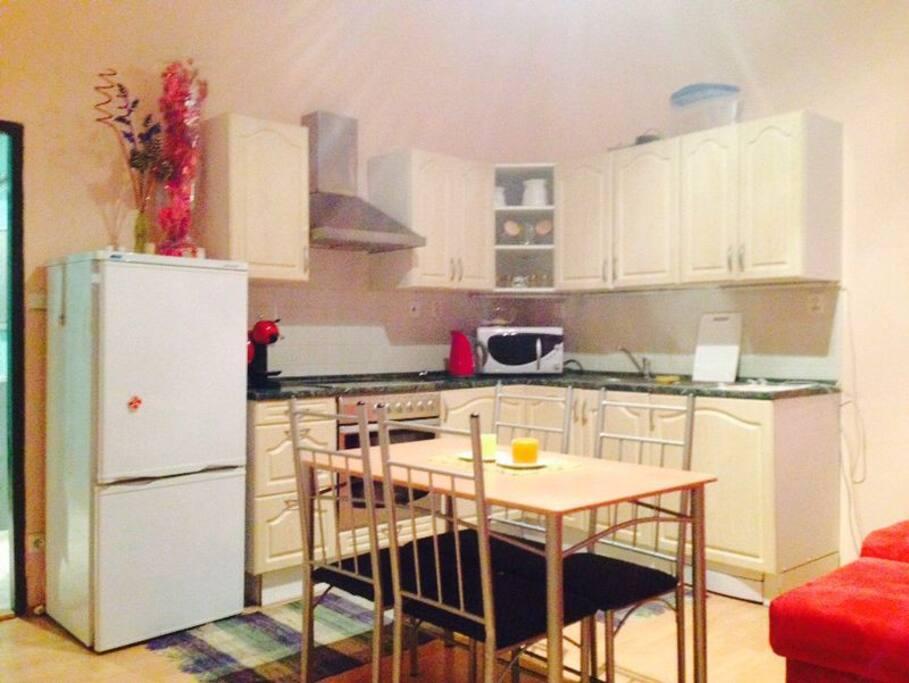 main room-kitchen/гостиная-кухня