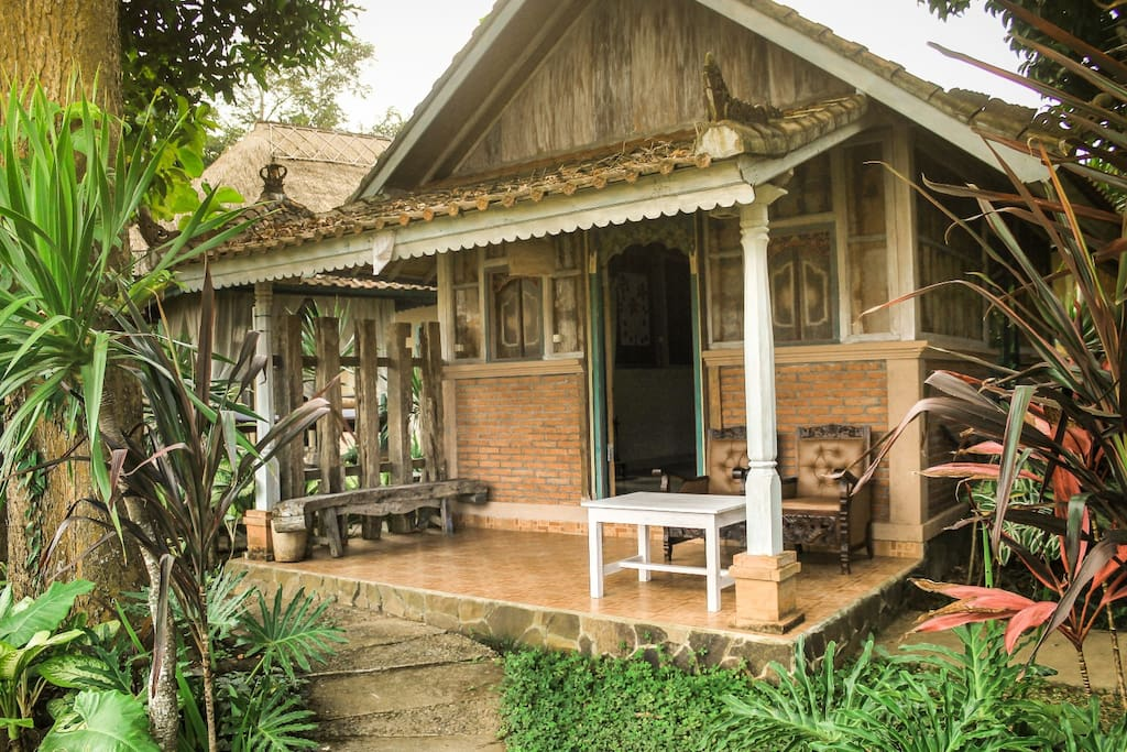 a very nice, comfort and unique Balinese Building