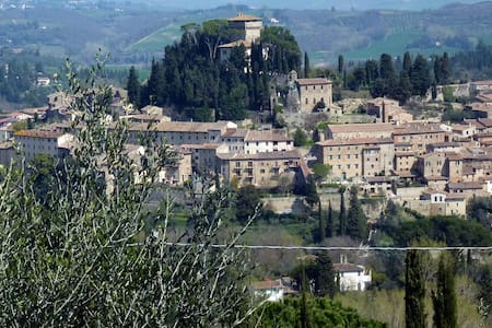 Charming flat in medieval Cetona - Cetona