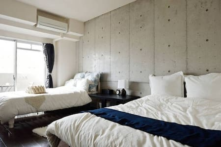 No37★Nipponbashi-Namba 4separateroom,4bath,4toilet - Chuo Ward, Osaka - Appartement