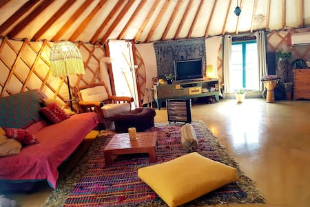 YURT special time-quiet,cozy&spacious