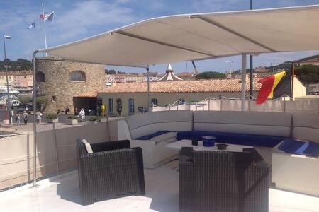 cabine jackie kennedy - Saint-Tropez - Bateau