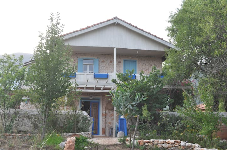 Mediterranean's country style home  - Çukurbağ - Maan sisään rakennettu talo