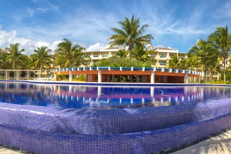 Beautiful Beach front apartment - Puerto Morelos - 公寓