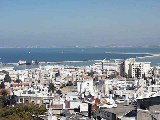 The Mountain Street Apartment in Haifa