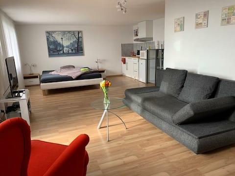 Privatzimmer mit Badezimmer & Küche in Lostorf