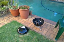 Weather is great for 'braai