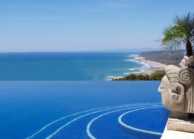 PRIV.HILLTOP VILLA *Pool-h/w-Jacuzzi* BEST VIEW!!! - Malpais - House