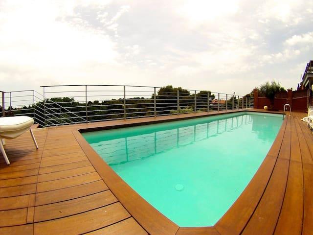 Modern house,  Sea, Beach,15min from Barcelona - カステルデフェルス - 別荘