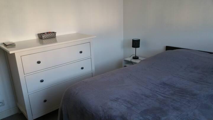 Chambre ensoleillée dans F3 en Colocation