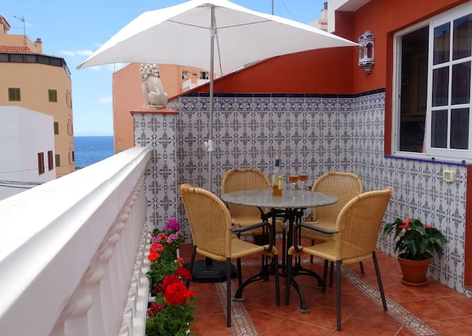 Уютные Апарт. Терраса & Пляж WiFi - Santa Cruz de Tenerife - Apartment
