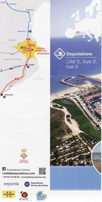 Itinéraire pour Empuriabrava