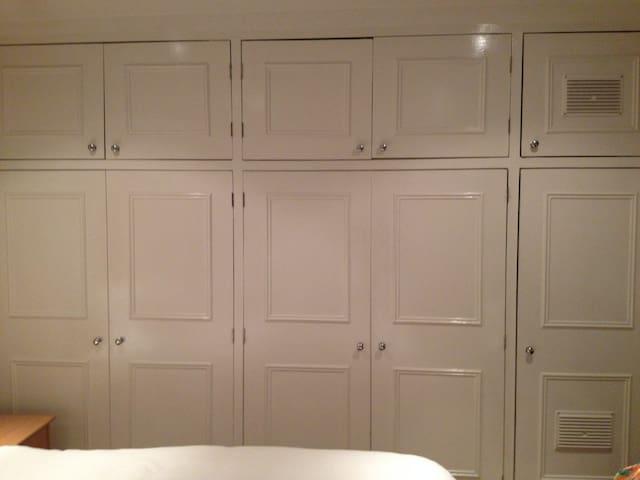 Fantastic cupboard space...