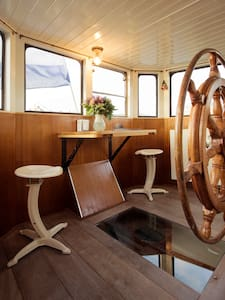 B&B on houseboat in canal district - Amsterdam - Condominium
