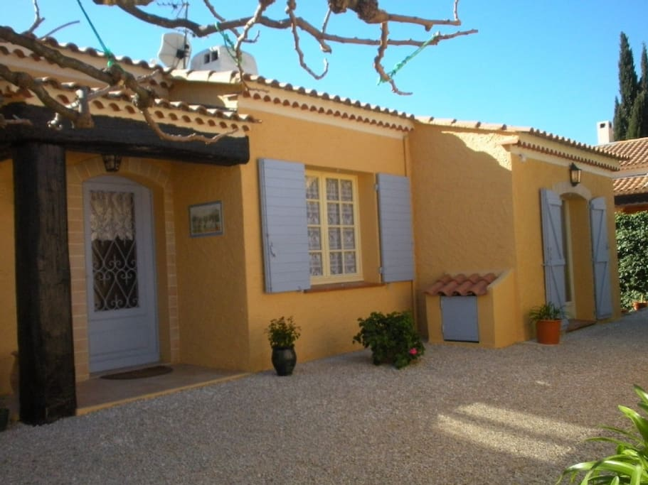 Typical Provence style villa