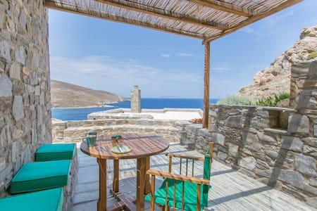 ASPES VILLAS by Psili Ammos Beach.2 amazing views
