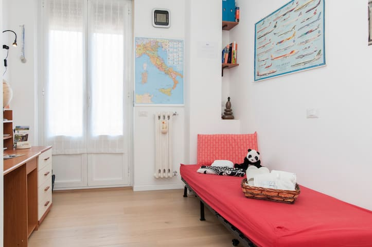 Relaxing Single Room in City Centre - Cernusco sul Naviglio - Appartement