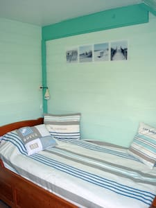 """petite chambre esprit """"bord de mer"""" - Saint-Jouan-des-Guérets - Ev"""