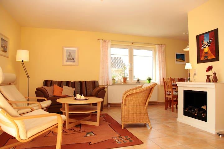 Ferienhaus mit Garten und Sauna - Boiensdorf - Casa